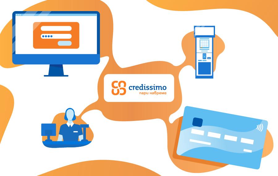 Credissimo препоръчва: Бъди отговорен, остани вкъщи и плащай вноските си онлайн.
