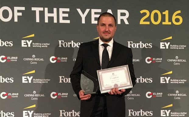 Ивелин Камбуров от Кредисимо взе награда за финансов директор на годината