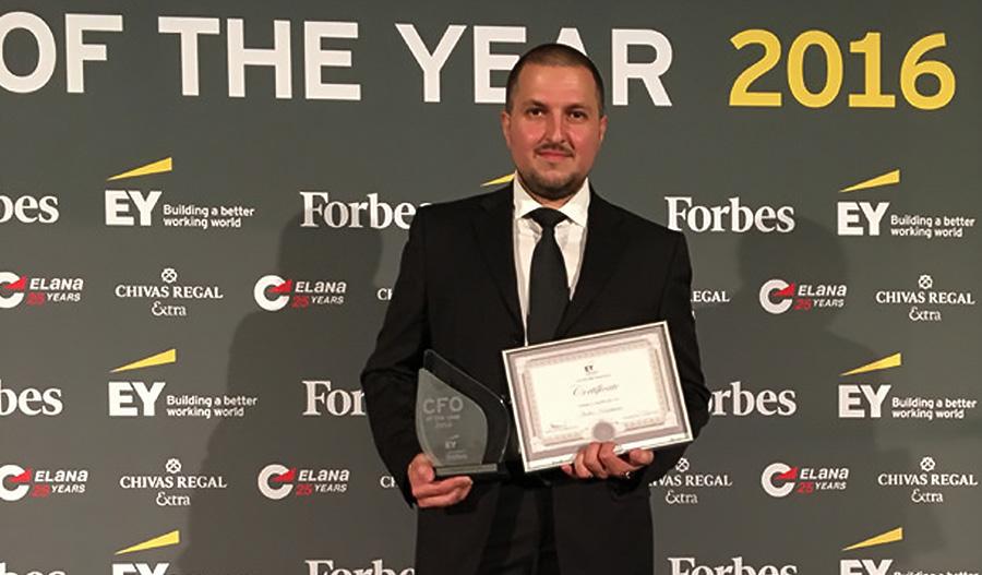 Ивелин Камбуров от Credissimo взе награда за финансов директор на годината