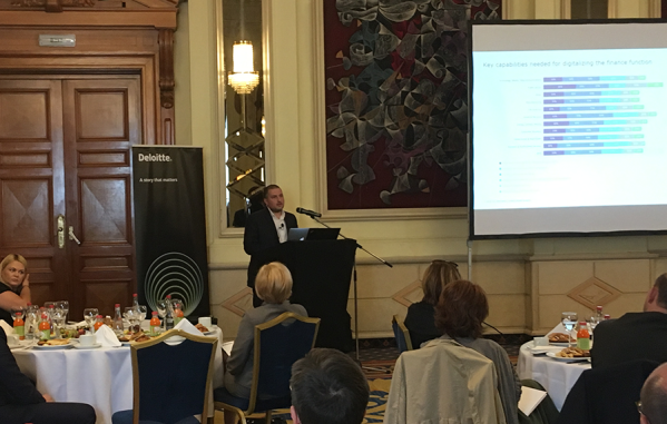 Финансовият директор на Credissimo с участие в Deloitte CFO Business Breakfast 2018