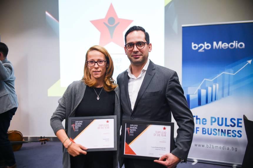 Credissimo с две престижни бизнес награди от Employer Branding Awards 2019